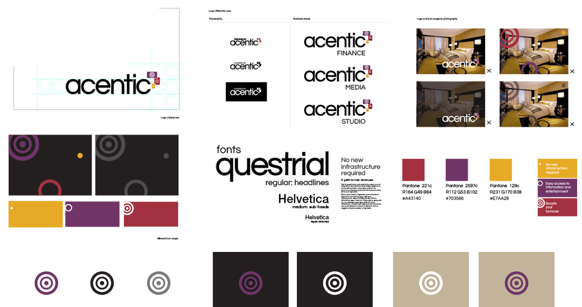 technology branding for acentic