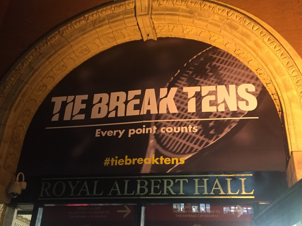 Tie Break Tens Poster